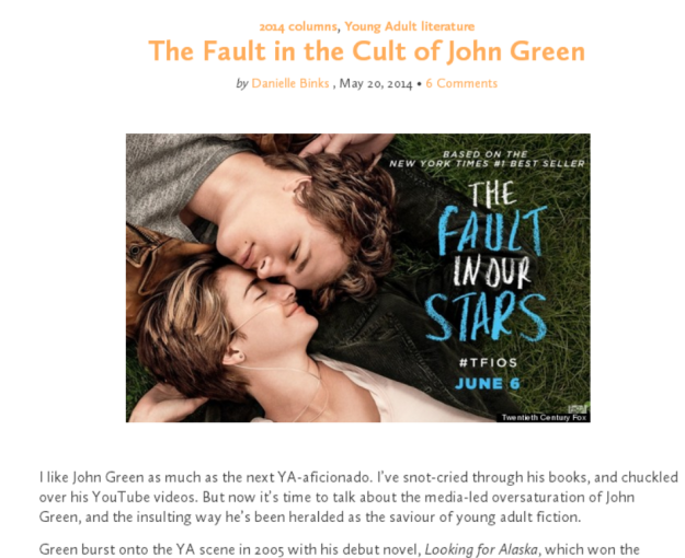thefaultinthecult